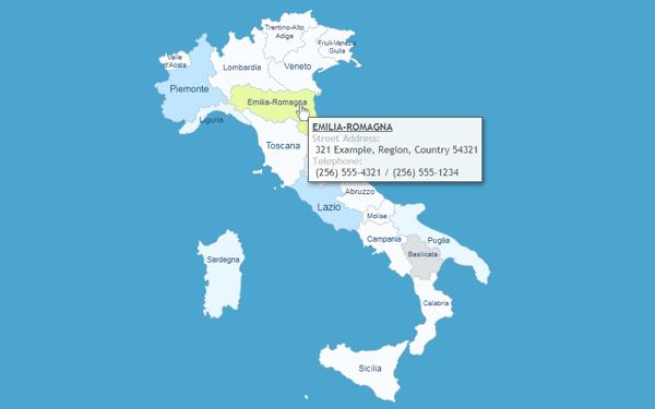 Cartina Italia Per Siti Web.Come Aggiungere Una Mappa Interattiva Dell Italia Nel Tuo Sito Web Wordpress Blog Wp