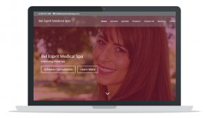 Página web WordPress ejemplo 1