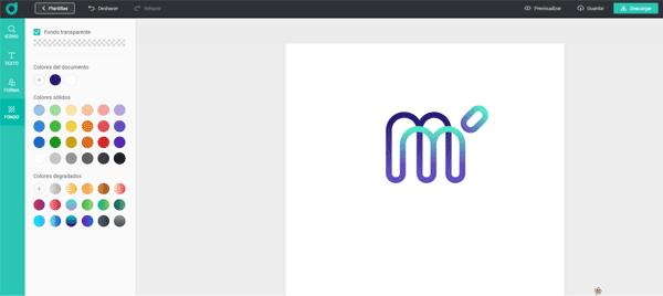 DesignEvo Creando Logo